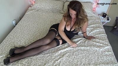 sexy para hot lingerie stockings garter lace black high heels long legs
