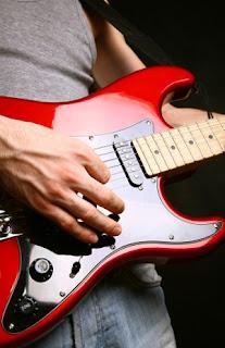 cara bermain gitar melodi