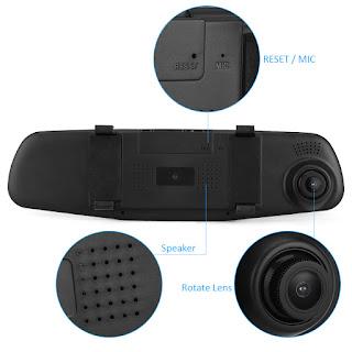 videocamera auto specchio
