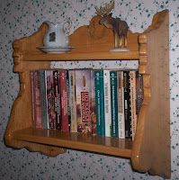 Old Man of the Mountain Book Shelf Right Side with Books