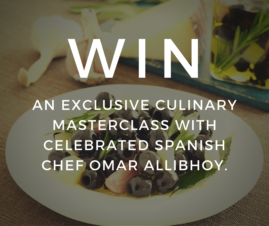 Competition | Win culinary masterclass with celebrated Spanish chef Omar Allibhoy
