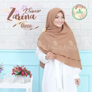 Khimar Fenuza Zarina Np Choco