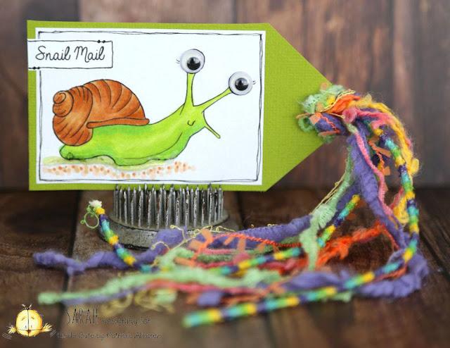 tag using snail digital stamp kindacutebypatricia