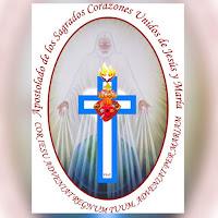Emblema Apostolado de los Sagrados Corazones Unidos de Jesús y de María