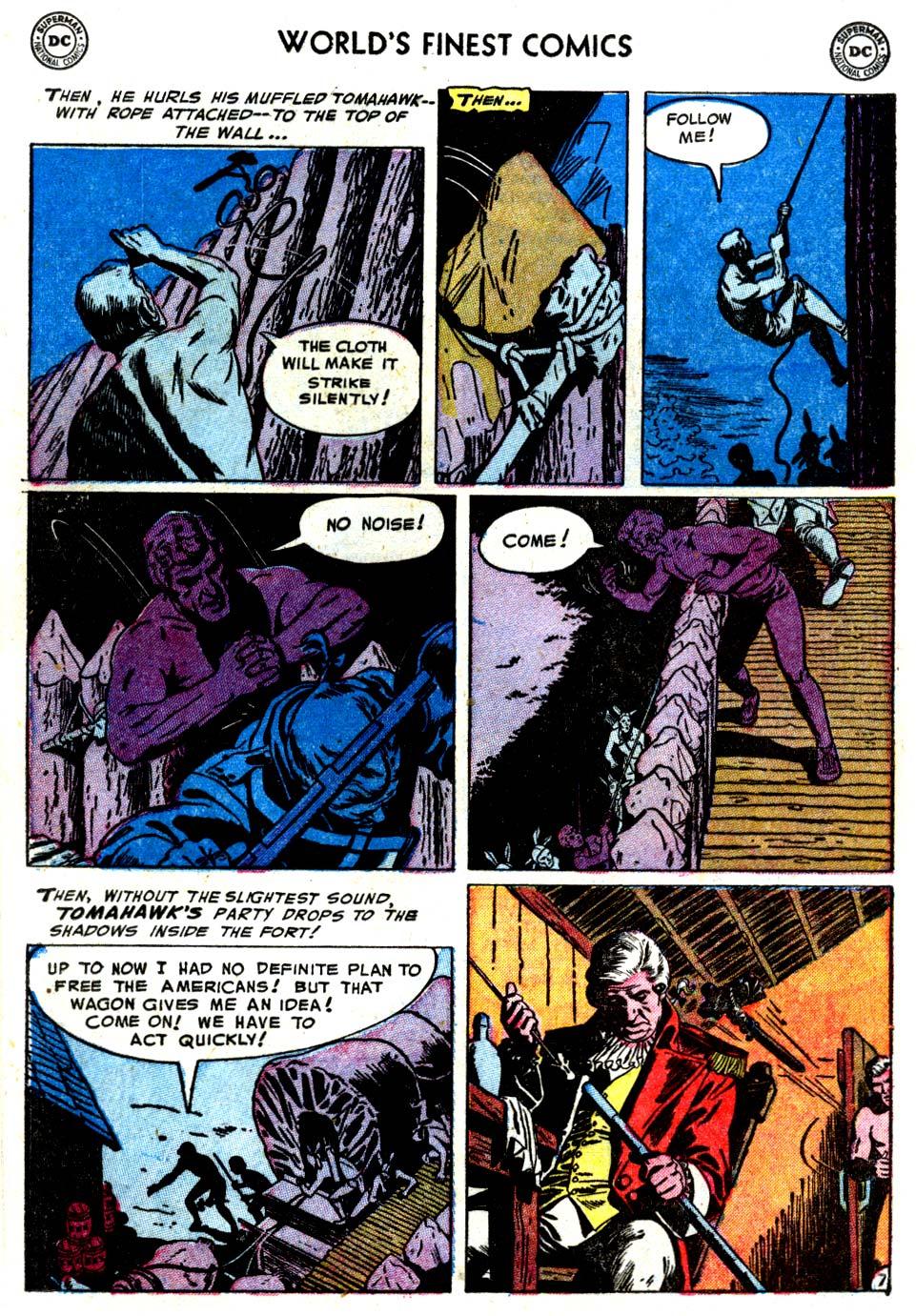 Read online World's Finest Comics comic -  Issue #68 - 22