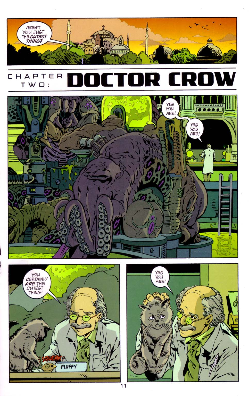 Read online Merv Pumpkinhead, Agent of D.R.E.A.M. comic -  Issue # Full - 12