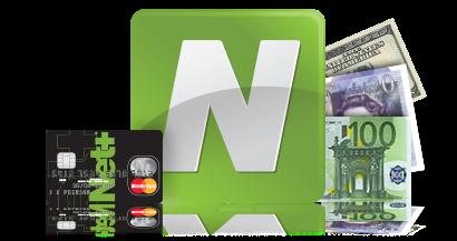 Récuperer votre argent  avec Neteller, le portefeuille numérique