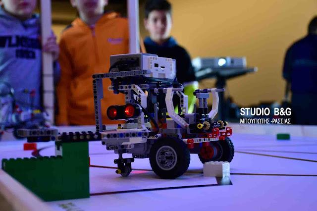 Όταν η φυσική συναντά τη ρομποτική στο 1ο Γυμνάσιο Ναυπλίου (βίντεο)