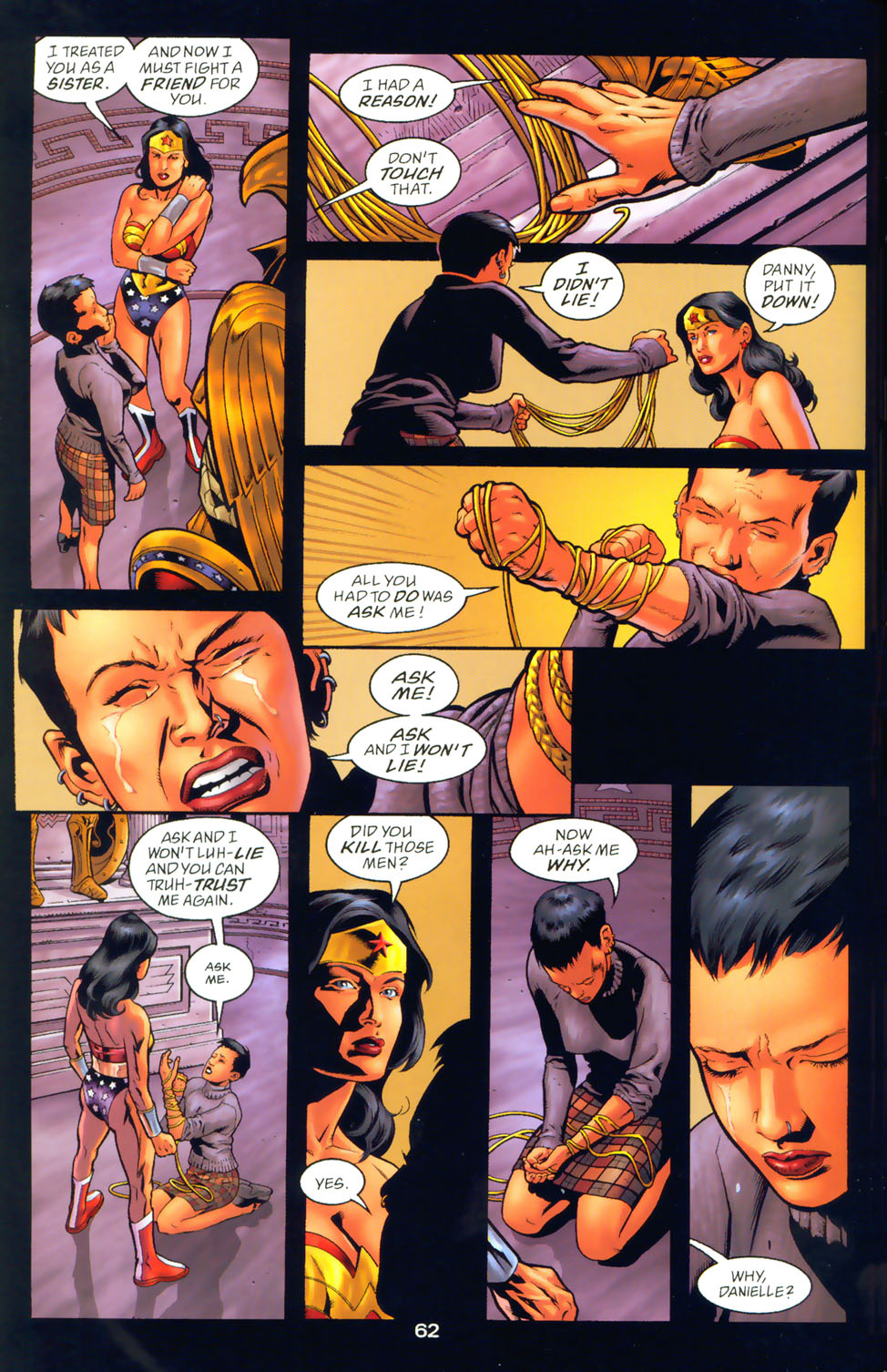 Read online Wonder Woman: The Hiketeia comic -  Issue # Full - 72