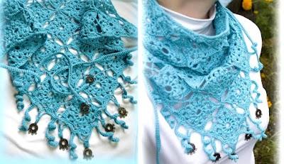 2 Bandanas de Crochet Persas con Tutorial