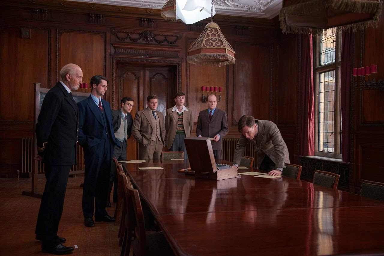 the imitation game-charles dance-matthew goode-ilan goodman-allen leech-matthew beard-jack tarlton-benedict cumberbatch