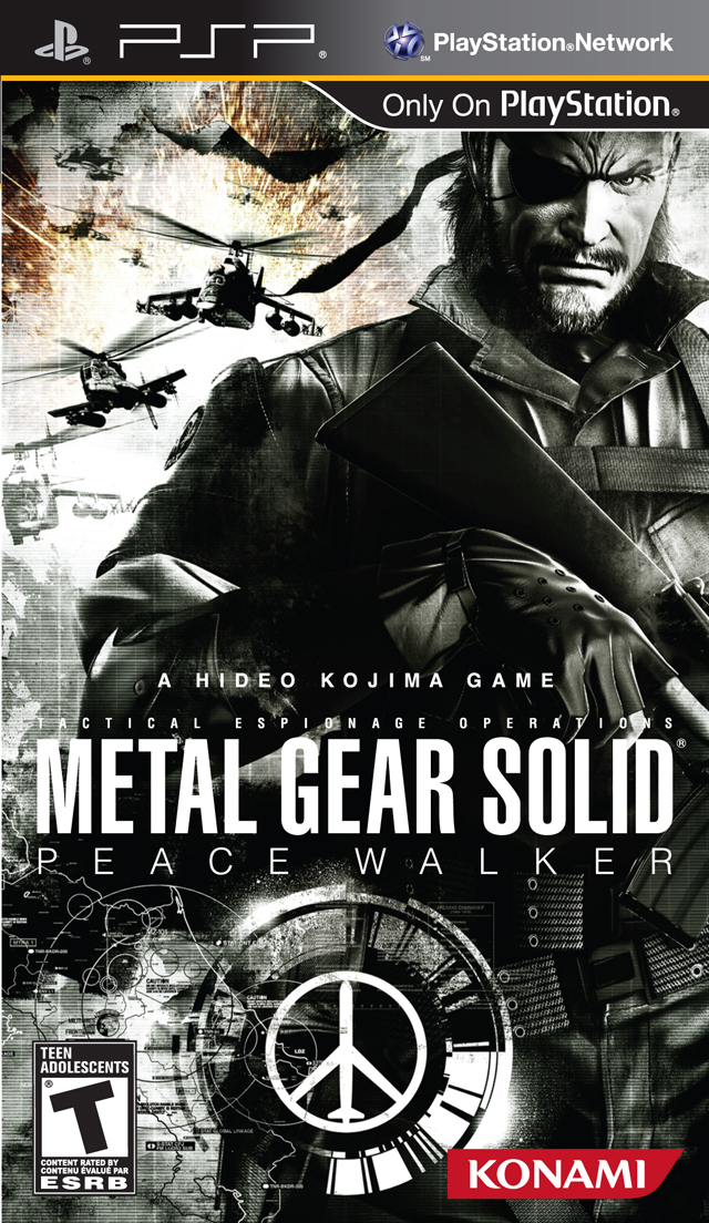 ROMs - Metal Gear Solid - Peace Walker - PSP Download