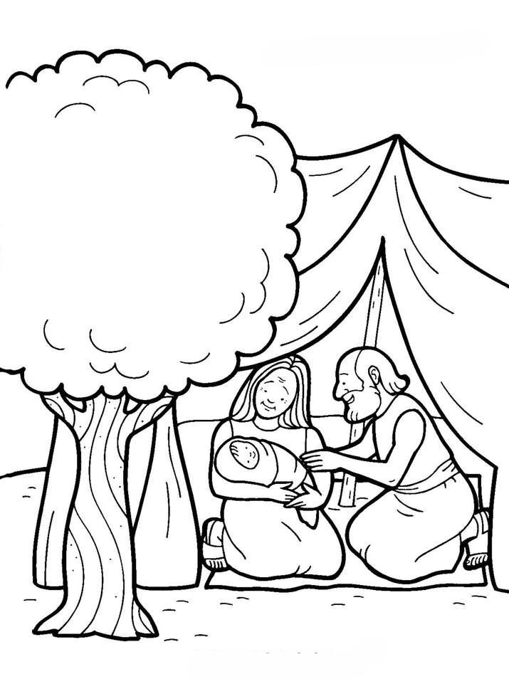 Dibujos de Abraham para colorear ~ Dibujos Cristianos Para