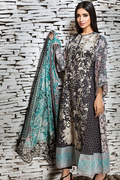 Khaadi 2017-18 Lawn Collection Vol-2