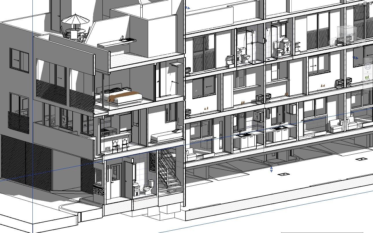 Arquitectura y dise o procesos bim for Casa moderna revit