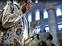 Eyüp Sultan camisinde kılıç duası ile kılıç kuşanma merasimi