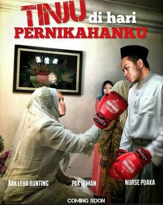 Parodi Pengantin Hantaran RM15K