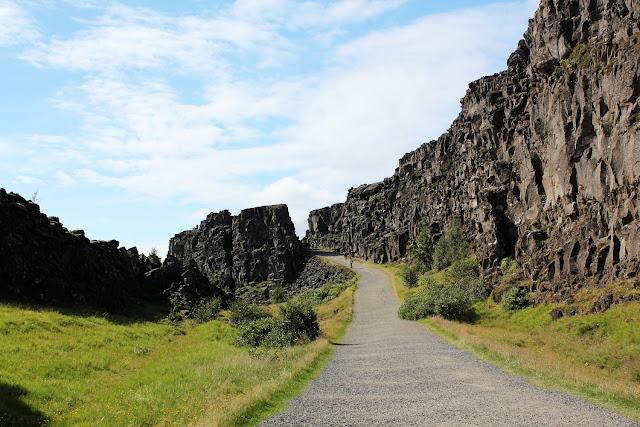 Þingvellir, la separación de las placas tectónicas