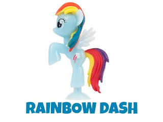 Fash'ems Series 3 Rainbow Dash