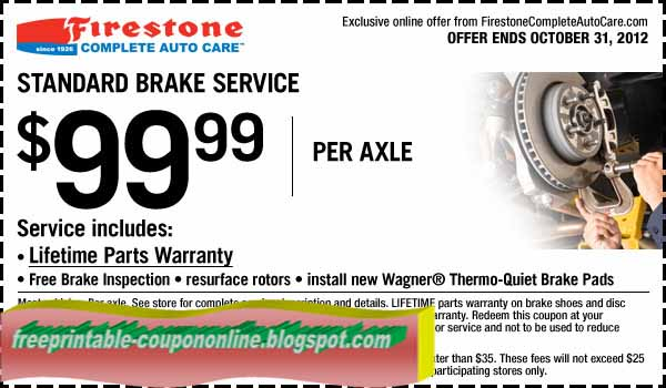 Firestone tires coupons 2018