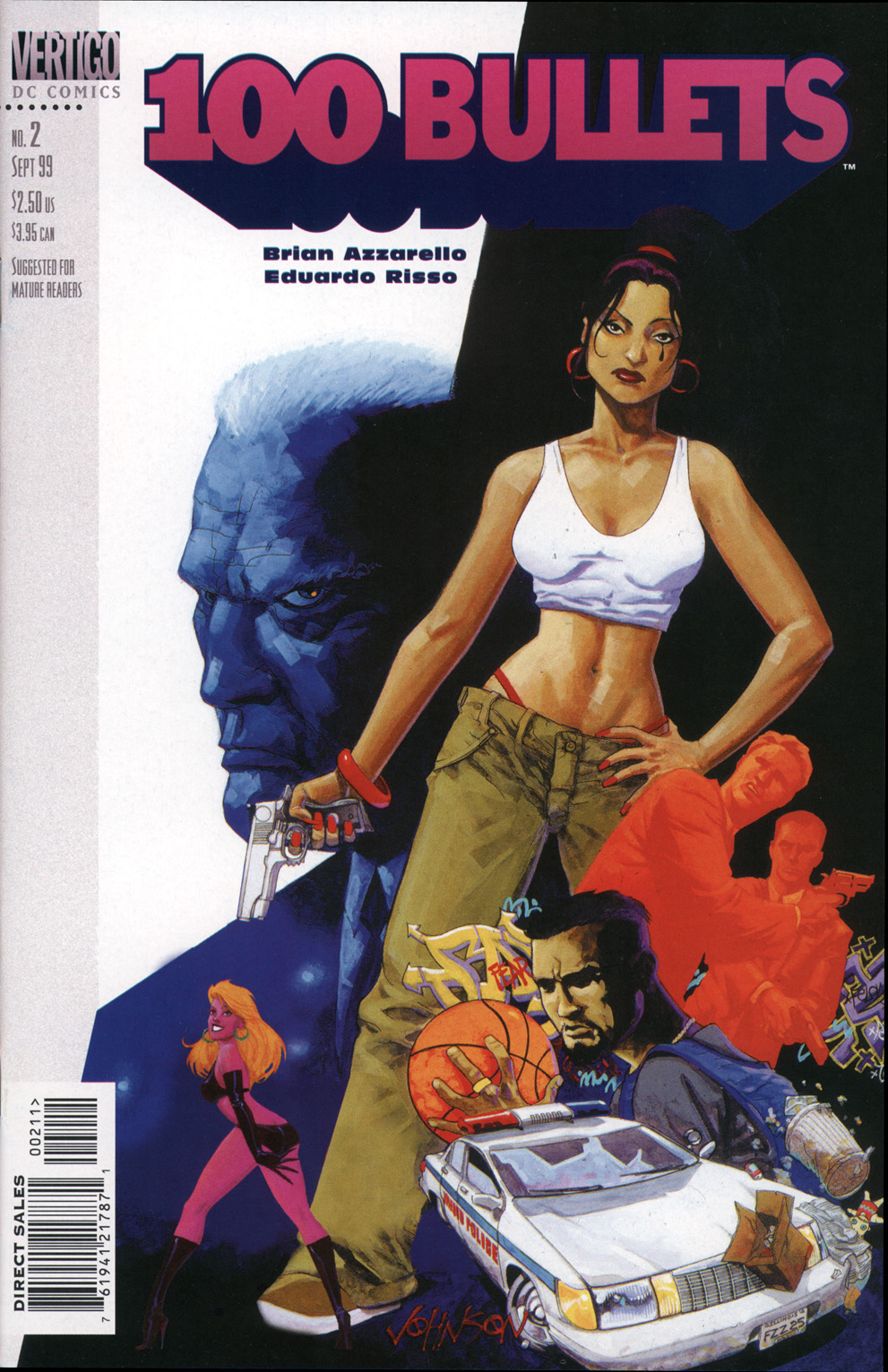 Read online 100 Bullets comic -  Issue #2 - 1
