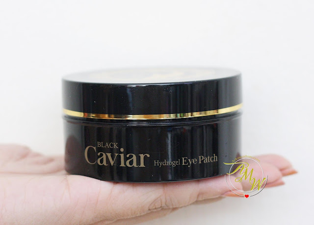 a photo of Esfolio Black Caviar Hydrogel Eye Patch Review