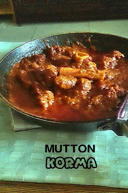 Mutton Korma Recipe @ treatntrick.blogspot.com