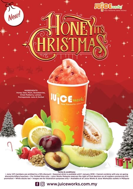 Juice Works, Honey, it's Christmas!