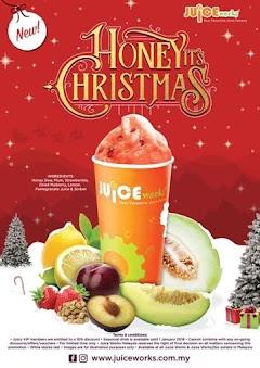 Beli Jus Sihat di Juice Works dan Dapat Beg Percuma