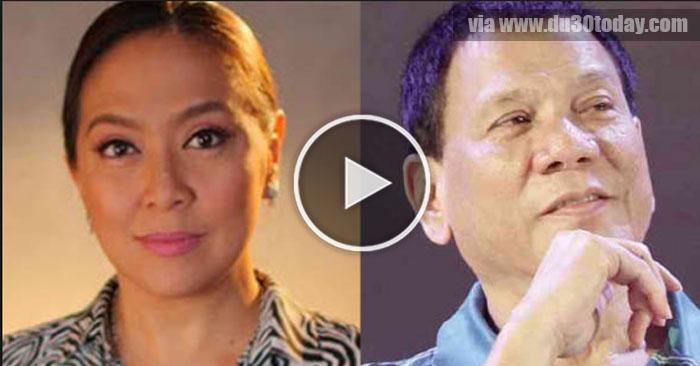 PANOORIN: Karen Davila, Ginawang Halimbawa Ni Duterte Para Sa Mga Balimbing