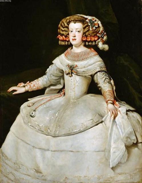 Resultado de imagen de infanta margarita teresa retrato kunsthistorische museum
