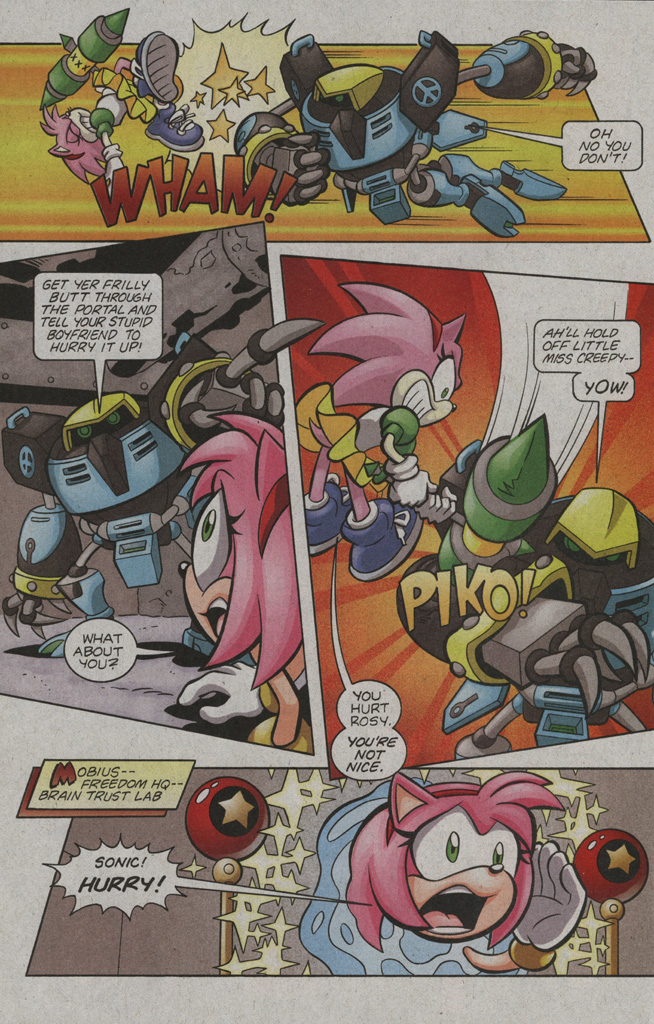 Read online Sonic The Hedgehog comic -  Issue #194 - 16
