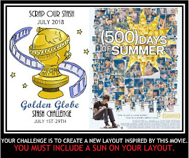 July 2018 Golden Globe Stash Challenge