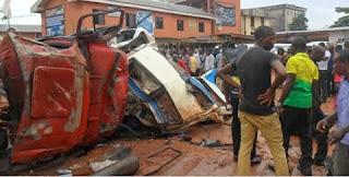 Auto crash in sango