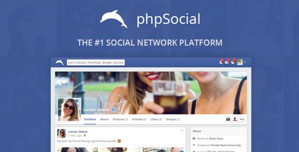 phpSocial v5.3.0 - Social Network Platform