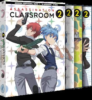 ASSASSINATION CLASSROOM T2 - PARTE 1 Bluray Edición Coleccionistas