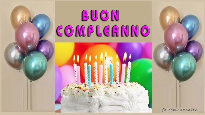 Buon Compleanno !