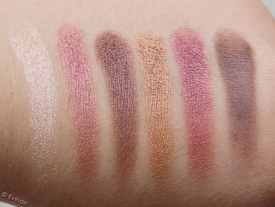 Essence Lights of Orient eyeshadow palette swatches