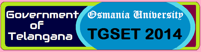 Telangana State Eligibility Test 2014 Notification.