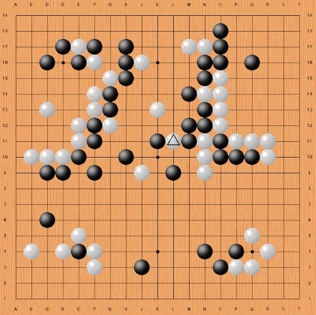 Key move 78 during Alpha Go vs Lee Sedol game