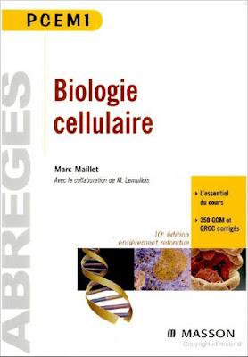 """[PDF] Livre Biologie """"Abrégés - Biologie Cellulaire"""" Télécharger Livre Gratuit"""