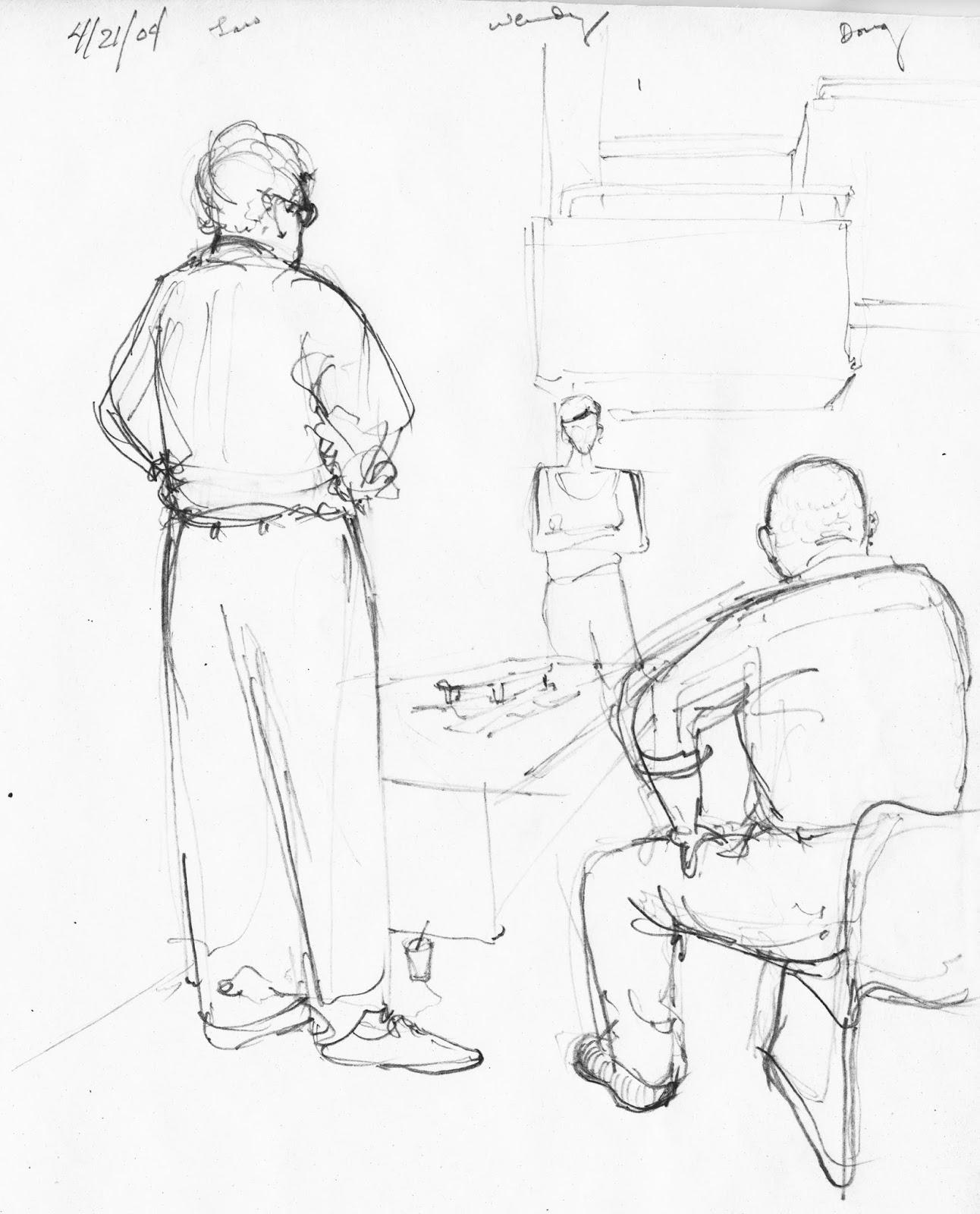 Dewey's Sketchbook: February 2014