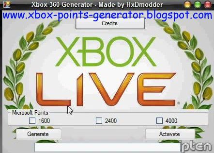 Free xbox live microsoft points codes generator download.