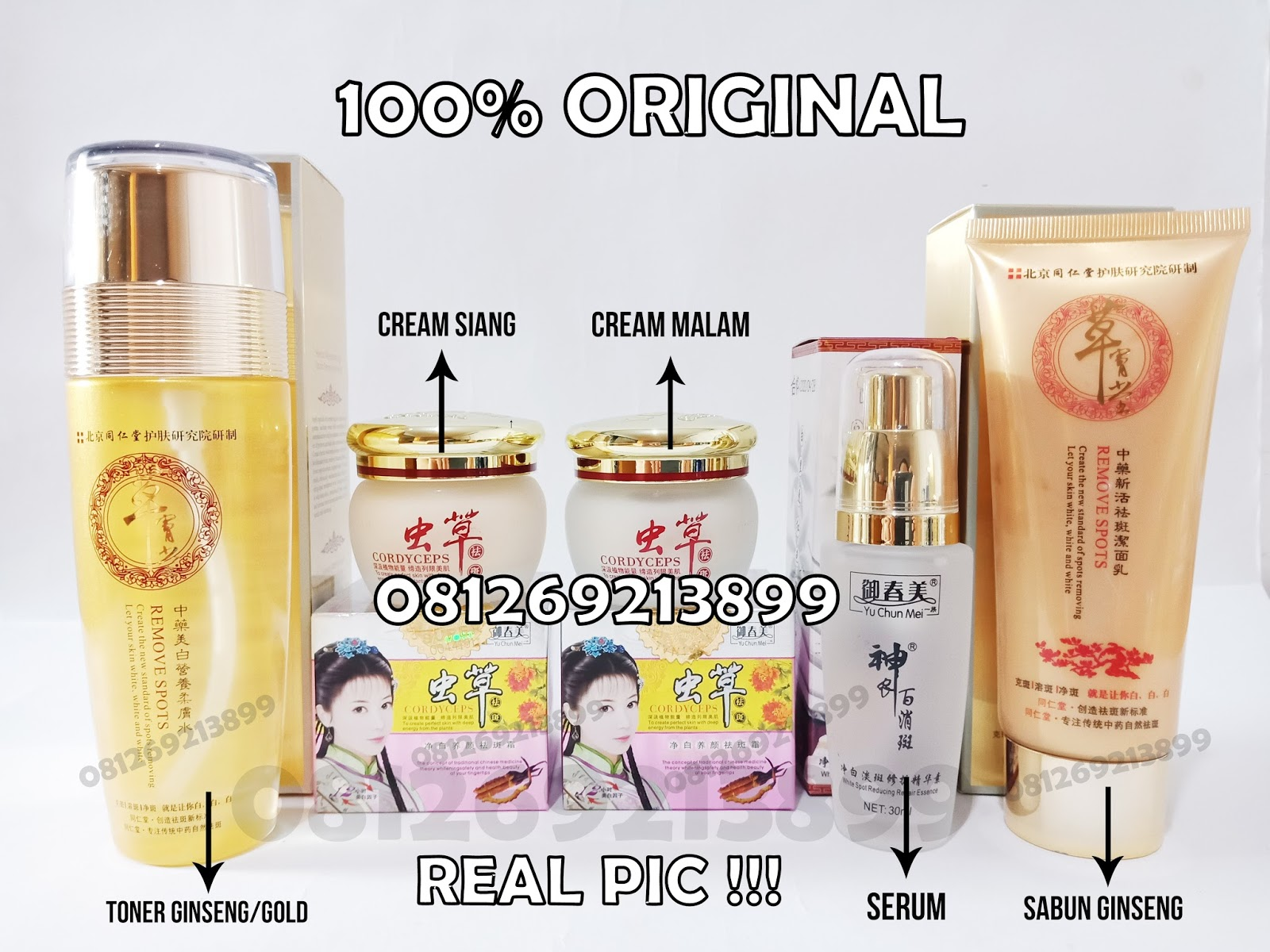 Jual Cream Cordyceps Yu Chun Mei Asli Original Cordysep Night Krim Malam Herbal Ginseng