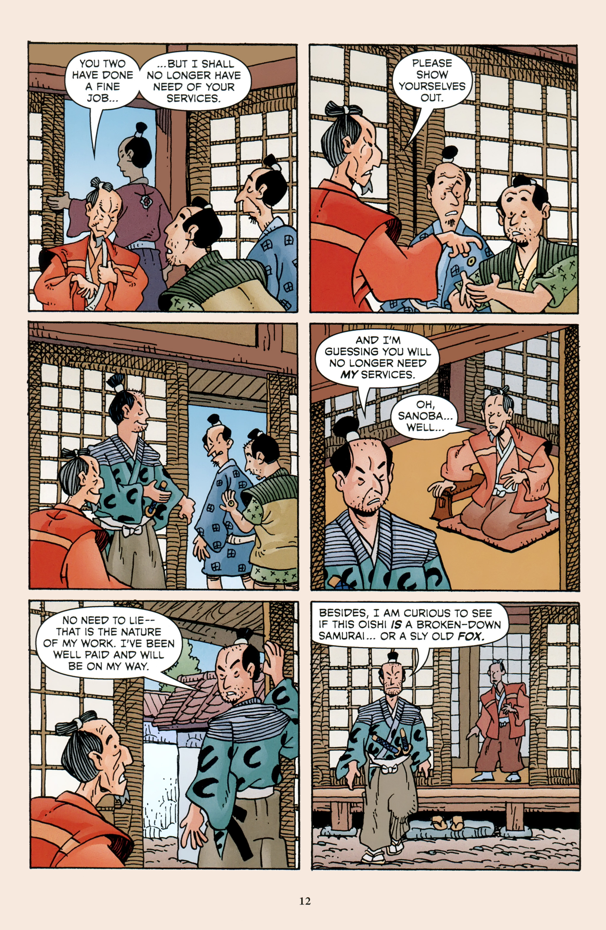 Read online 47 Ronin comic -  Issue #4 - 14