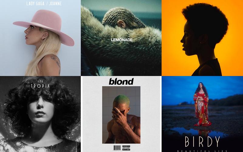 Esses são os melhores álbuns de 2016