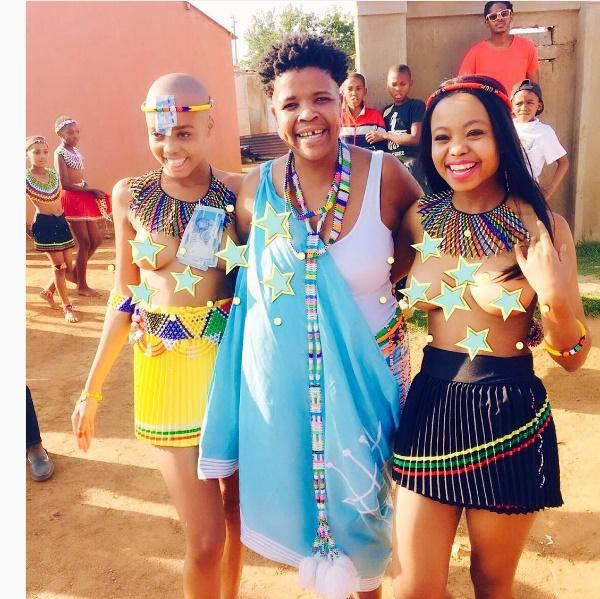 More Pics! Ntando Duma celebrates her uMemulo - The Edge ...