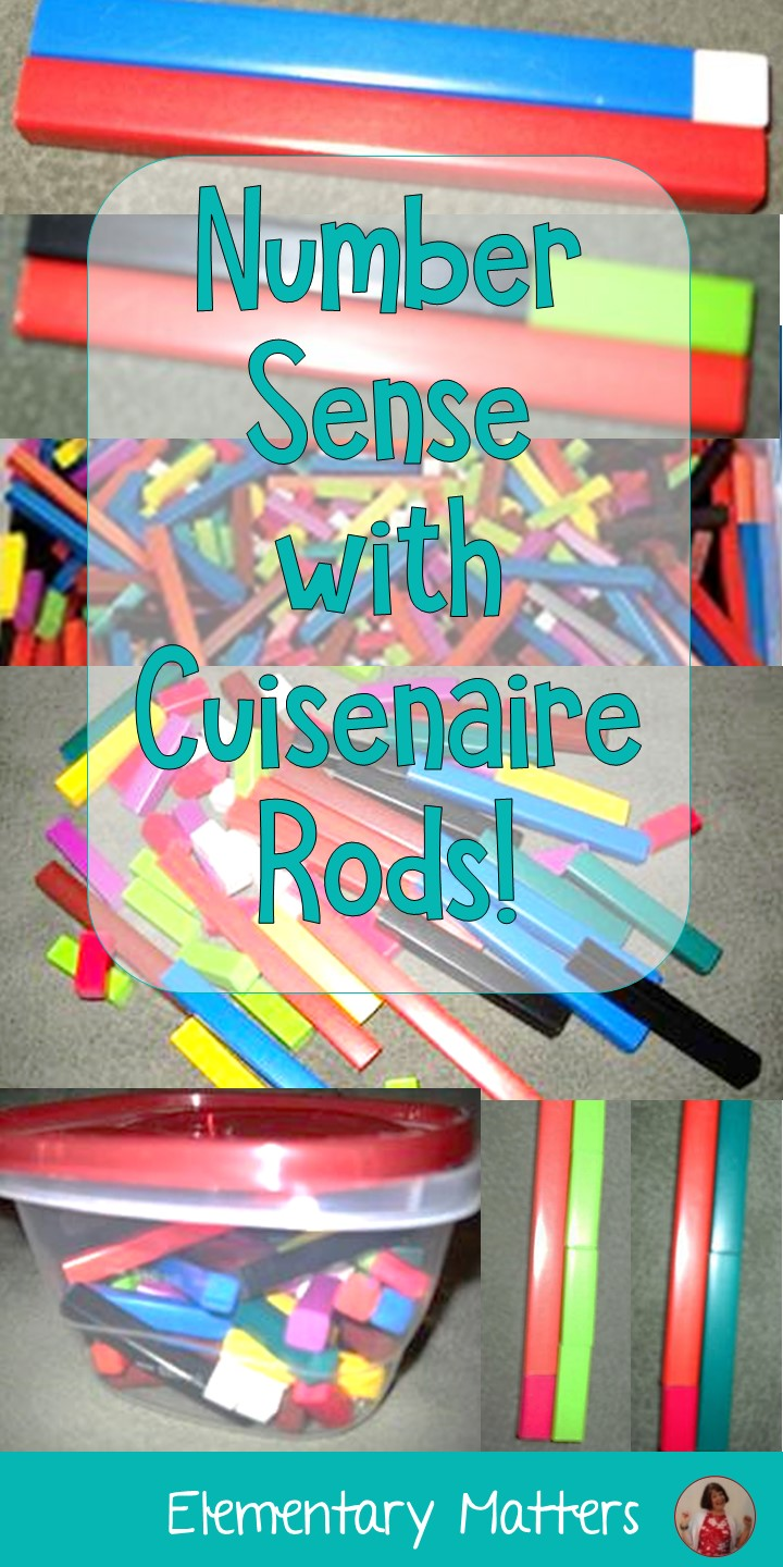 Elementary Matters Number Sense With Cuisenaire Rods