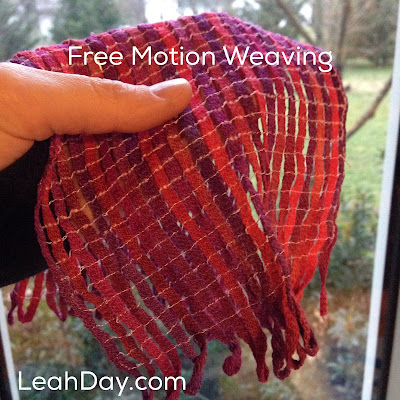 Free Motion Weaving | LeahDay.com