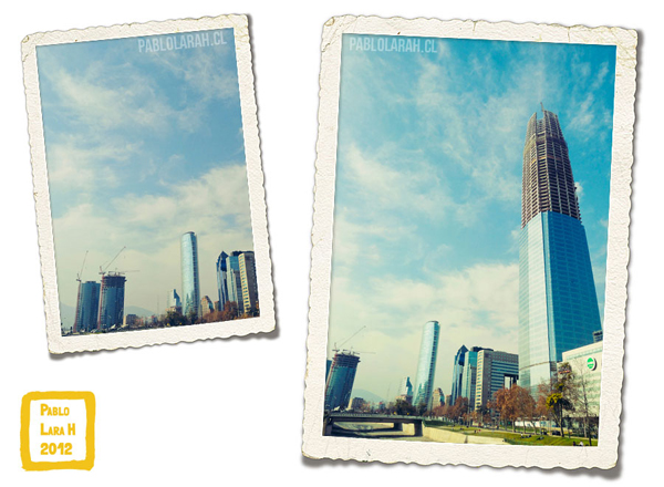 Buildings, Santiago de Chile, Pablo Lara H, Titanium Building